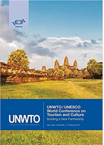 world conference on tourism and culture book cover